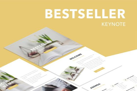 Presentation Templates: Bestseller Keynote Template #05349