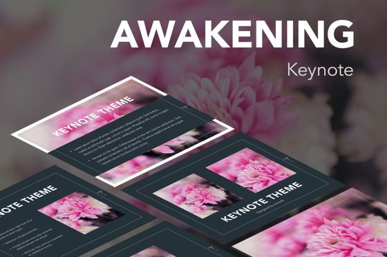Presentation Templates: Awakening Keynote Template #05355