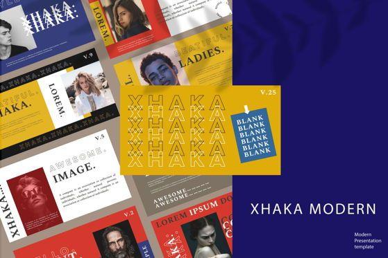 Presentation Templates: Xhaka - PowerPoint Template #05365