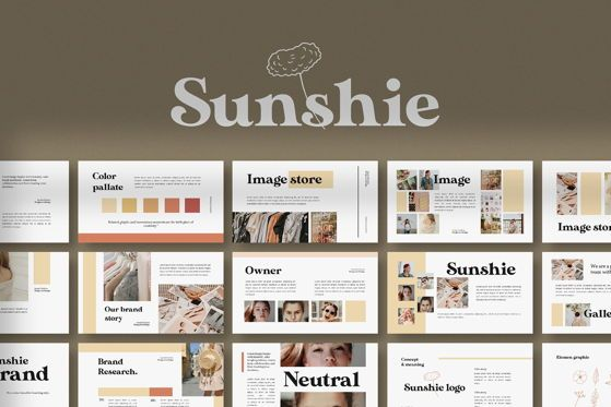 Presentation Templates: Sunshie - PowerPoint Template #05366