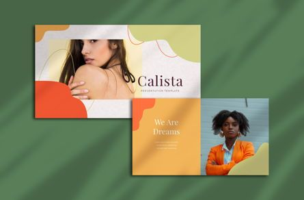 Presentation Templates: Calista - PowerPoint Template #05367