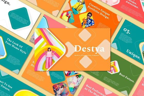 Presentation Templates: Destya - Powerpoint Template #05368