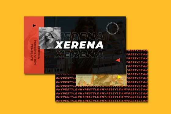 Presentation Templates: Xerena - PowerPoint Template #05369