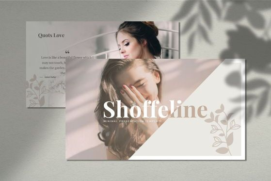 Presentation Templates: Shoffeline - PowerPoint Template #05376