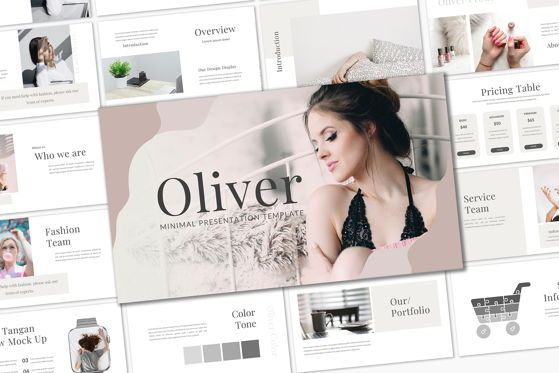 Presentation Templates: Oliver - PowerPoint Template #05380