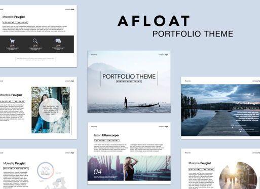 Presentation Templates: Afloat Keynote Presentation Template #05384