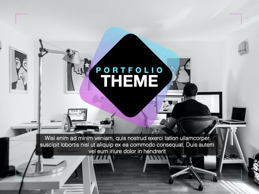 Creative Keynote Presentation Template, Slide 12, 05387, Presentation Templates — PoweredTemplate.com