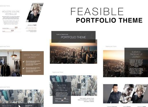 Presentation Templates: Feasible Keynote Presentation Template #05389