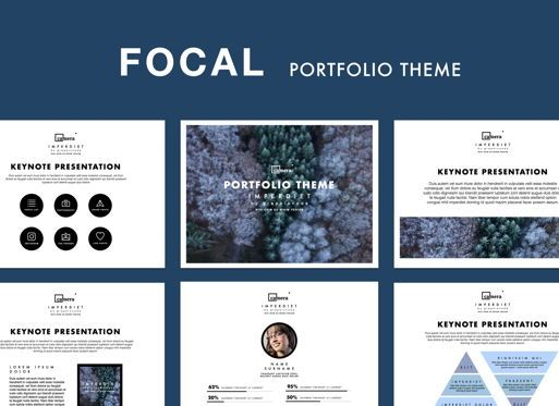 Presentation Templates: Focal Keynote Presentation Template #05391