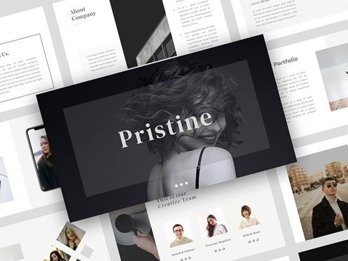 Presentation Templates: PRISTINE - PowerPoint Template #05394