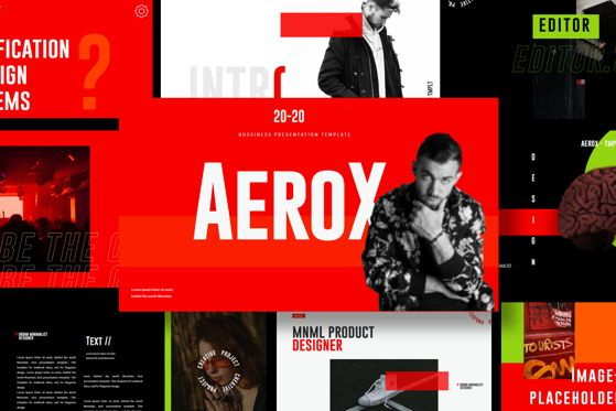 Presentation Templates: Aerox - Google Slide #05412
