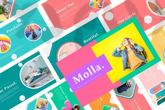 Presentation Templates: Molla - Google Slide #05413