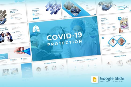 Presentation Templates: Covid19 Protection - Google Slide #05420