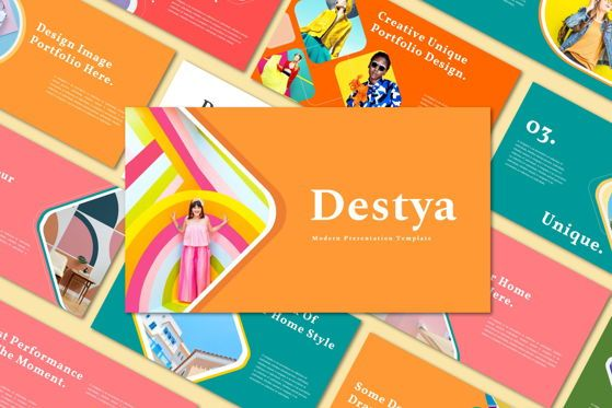 Presentation Templates: Destya - Keynote Template #05426