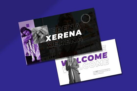 Presentation Templates: Xerena - Keynote Template #05427