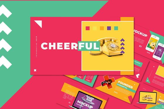 Presentation Templates: Cheerful - Keynote Template #05428