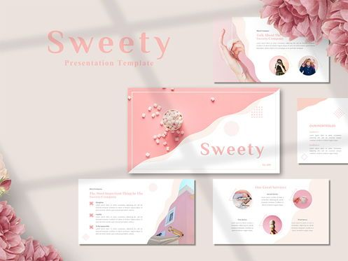 Presentation Templates: SWEETY - Google Slide Template #05453