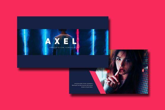 Presentation Templates: Axel - PowerPoint Template #05464