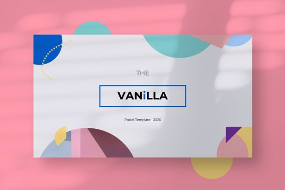 Presentation Templates: Vanila - PowerPoint Template #05465