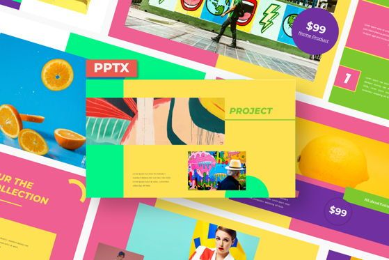 Presentation Templates: Daniza - PowerPoint Template #05467