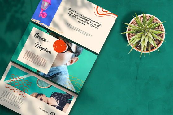 Presentation Templates: Therines - PowerPoint Template #05477