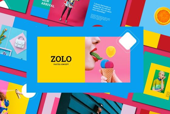 Presentation Templates: Zolo - PowerPoint Template #05483