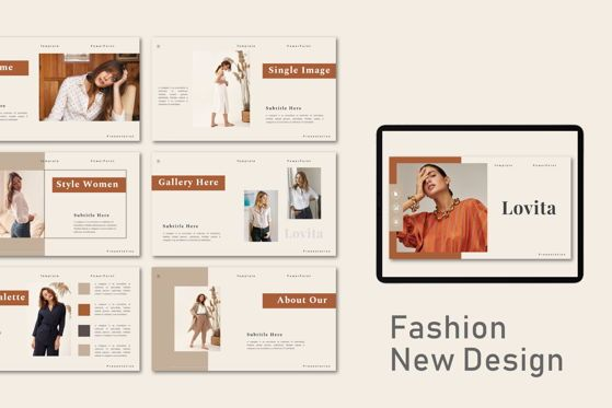 Presentation Templates: Lovita - PowerPoint Template #05485