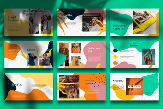 Presentation Templates: RUdson - PowerPoint Template #05486