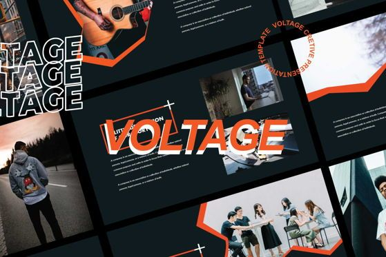 Presentation Templates: Voltage - Power Point Template #05488