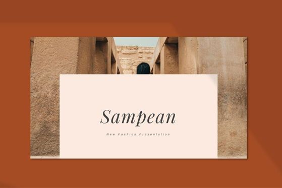 Presentation Templates: Sampean - PowerPoint Template #05489
