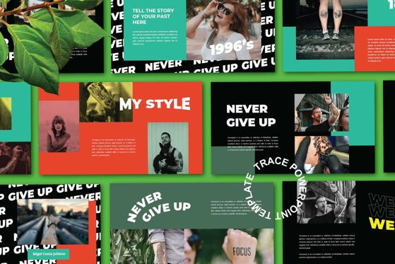 Presentation Templates: Trance - PowerPoint Template #05490