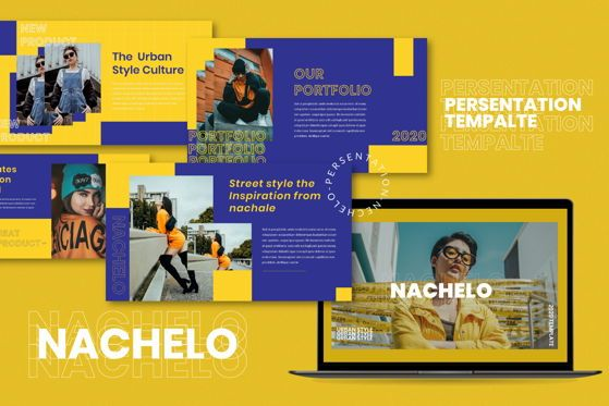 Presentation Templates: Nachelo - PowerPoint Template #05495