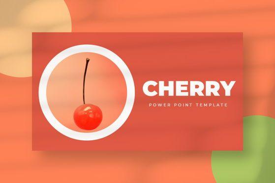 Presentation Templates: Cherry - Google Slide #05520