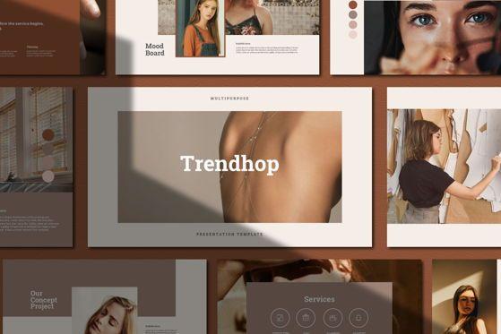 Presentation Templates: Trendhop - Google Slide #05538