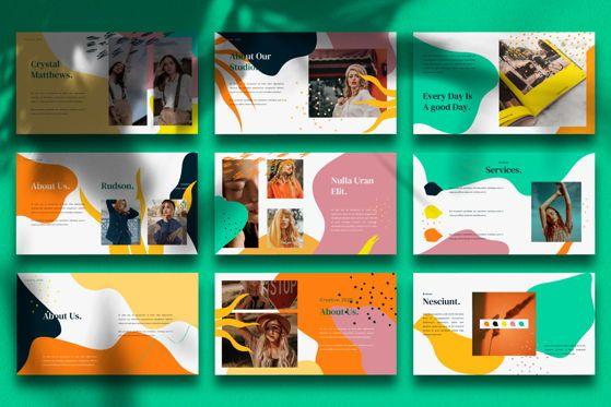 Presentation Templates: Rusdon - Google Slide #05540