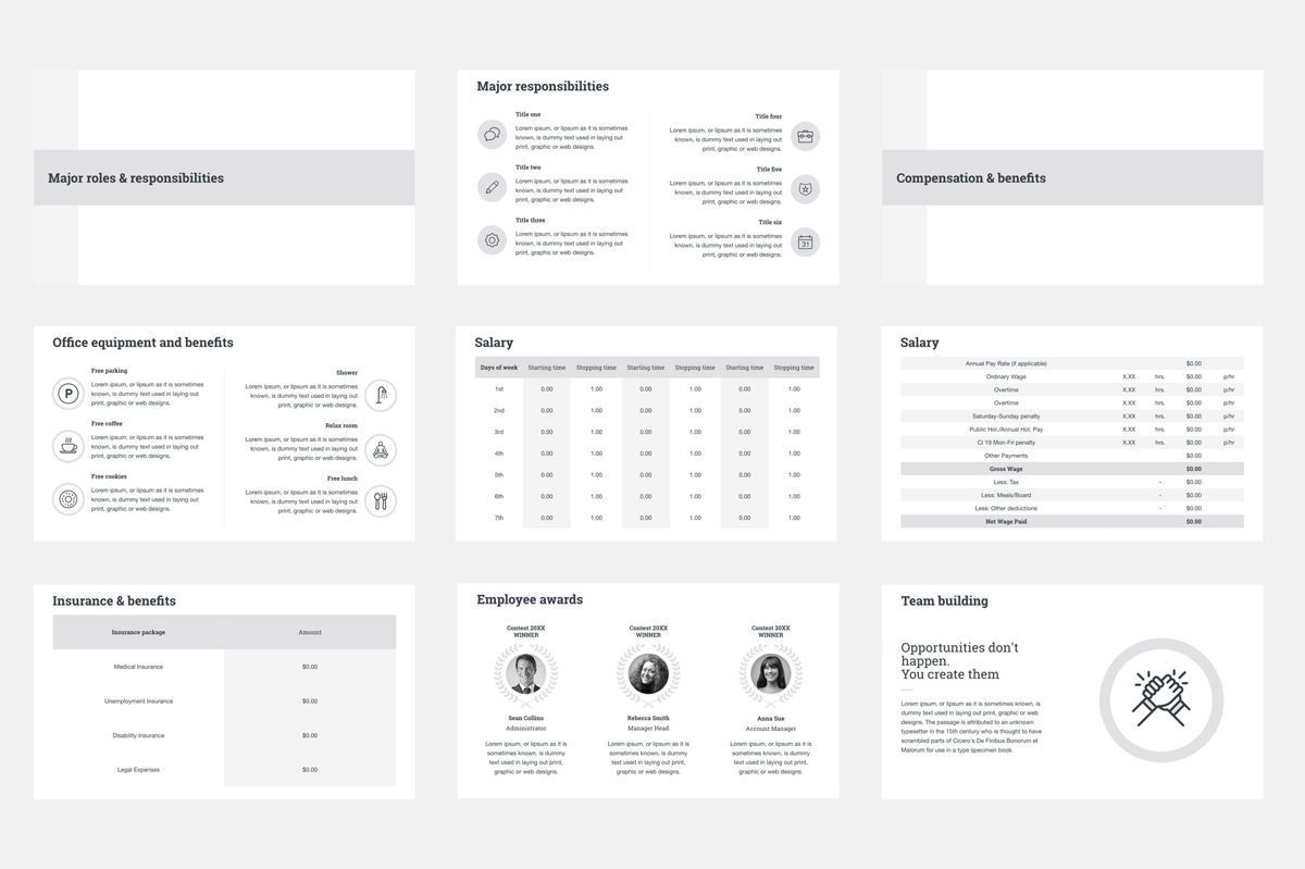 HR Human Resources Keynote Template, Slide 5, 05555, Presentation Templates — PoweredTemplate.com