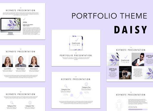 Presentation Templates: Daisy Powerpoint Presentation Template #05579