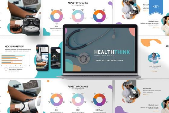 Presentation Templates: Healthink - Keynote Template #05619