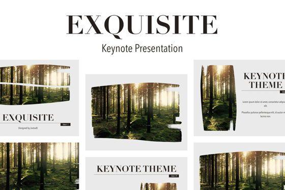 Presentation Templates: Exquisite Keynote Template #05647