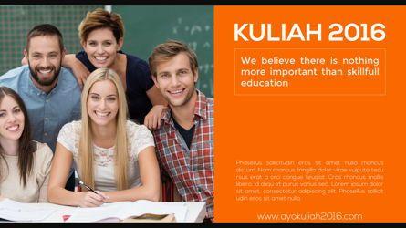 Presentation Templates: College Prospectus Presentation #05667