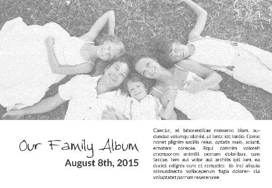 Presentation Templates: Family Photo Album Presentation #05669