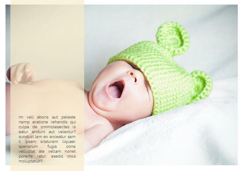 Baby Photo Album Presentation, Slide 10, 05670, Presentation Templates — PoweredTemplate.com