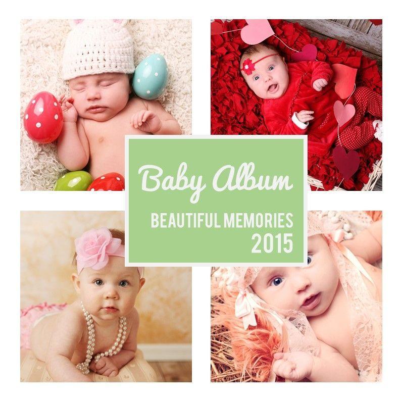 Baby Photo Album Presentation, Slide 11, 05670, Presentation Templates — PoweredTemplate.com