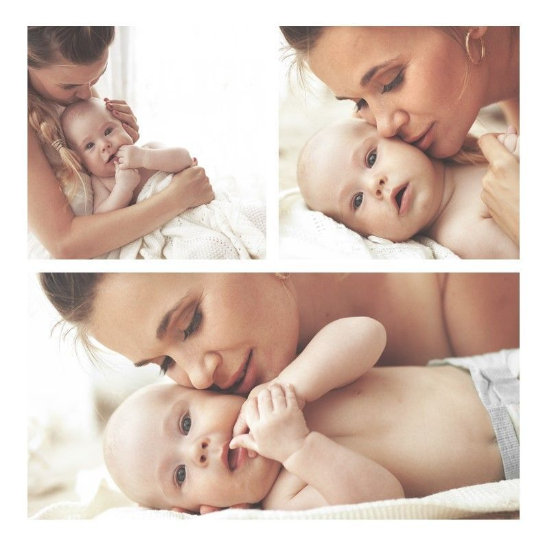 Baby Photo Album Presentation, Slide 16, 05670, Presentation Templates — PoweredTemplate.com