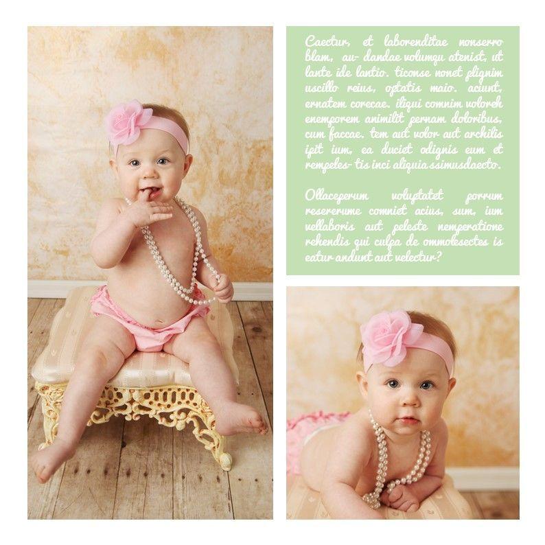 Baby Photo Album Presentation, Slide 17, 05670, Presentation Templates — PoweredTemplate.com