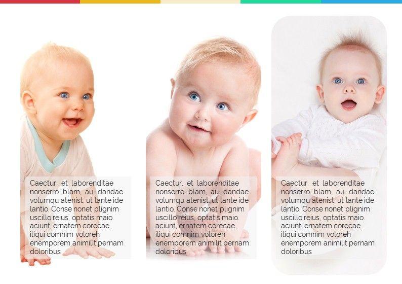Baby Photo Album Presentation, Slide 2, 05670, Presentation Templates — PoweredTemplate.com