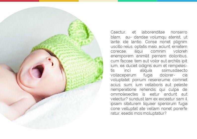 Baby Photo Album Presentation, Slide 3, 05670, Presentation Templates — PoweredTemplate.com