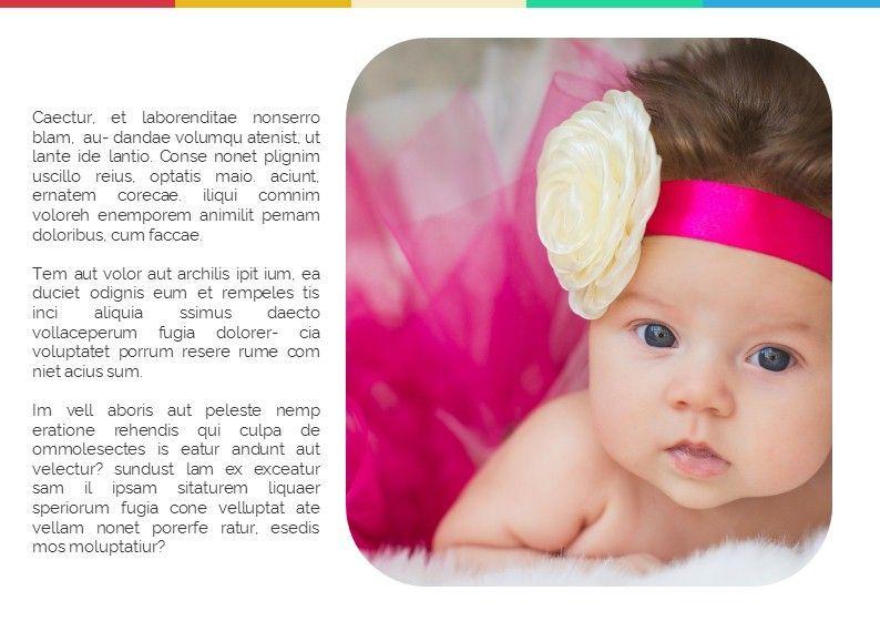 Baby Photo Album Presentation, Slide 4, 05670, Presentation Templates — PoweredTemplate.com