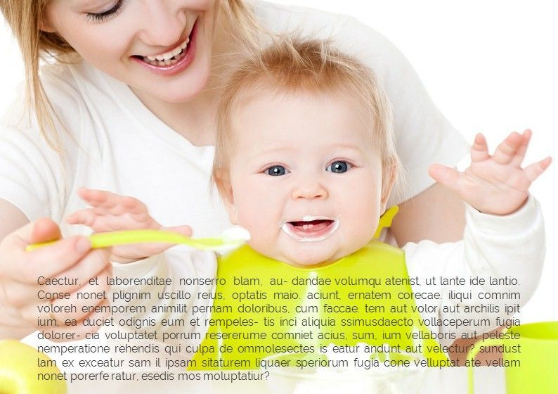 Baby Photo Album Presentation, Slide 5, 05670, Presentation Templates — PoweredTemplate.com