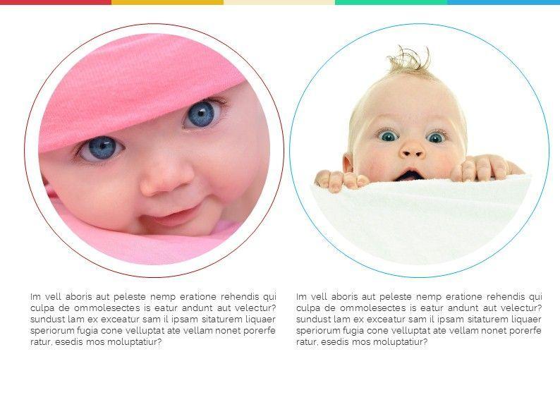 Baby Photo Album Presentation, Slide 7, 05670, Presentation Templates — PoweredTemplate.com